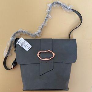 Neiman Marcus Crossbody Gray Bag Penrose NWT